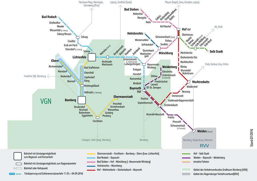 Kbs 862 Fichtelgebirgsbahn Bayreuth Warmensteinach